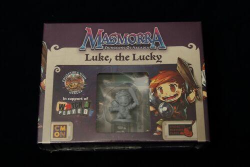 Arcadia Quest Kickstarter Exclusive Promo Hero Figure Luke The Lucky Masmorra