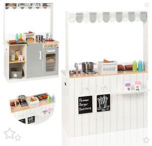 05e7d51df77ed8 Details zu Sun Kinderküche Street Food Kitchen Spielküche Imbiss Kaufladen  Kaufmannsladen