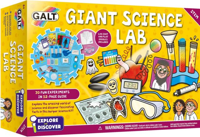Galt GIANT SCIENCE LAB Educational Activity Game Toy BN