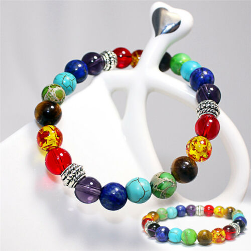 Guérison équilibre perles bracelet en pierre naturelle bijoux Bracelet rk
