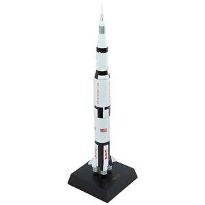 NASA-Saturn-V-Apollo-Rocket-With-Capsule-Model-Desk-Display-Space-1-200-ES-Moon