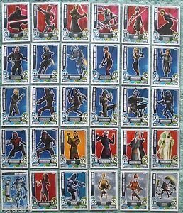 Star-Wars-Force-Attax-Clone-Wars-Series-4-Base-Card-Selection-101-130
