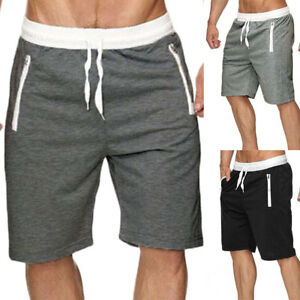 08175cac58 Men's Summer Comfy Shorts Baggy Gym Sport Jogger Sweat Beach Pants ...