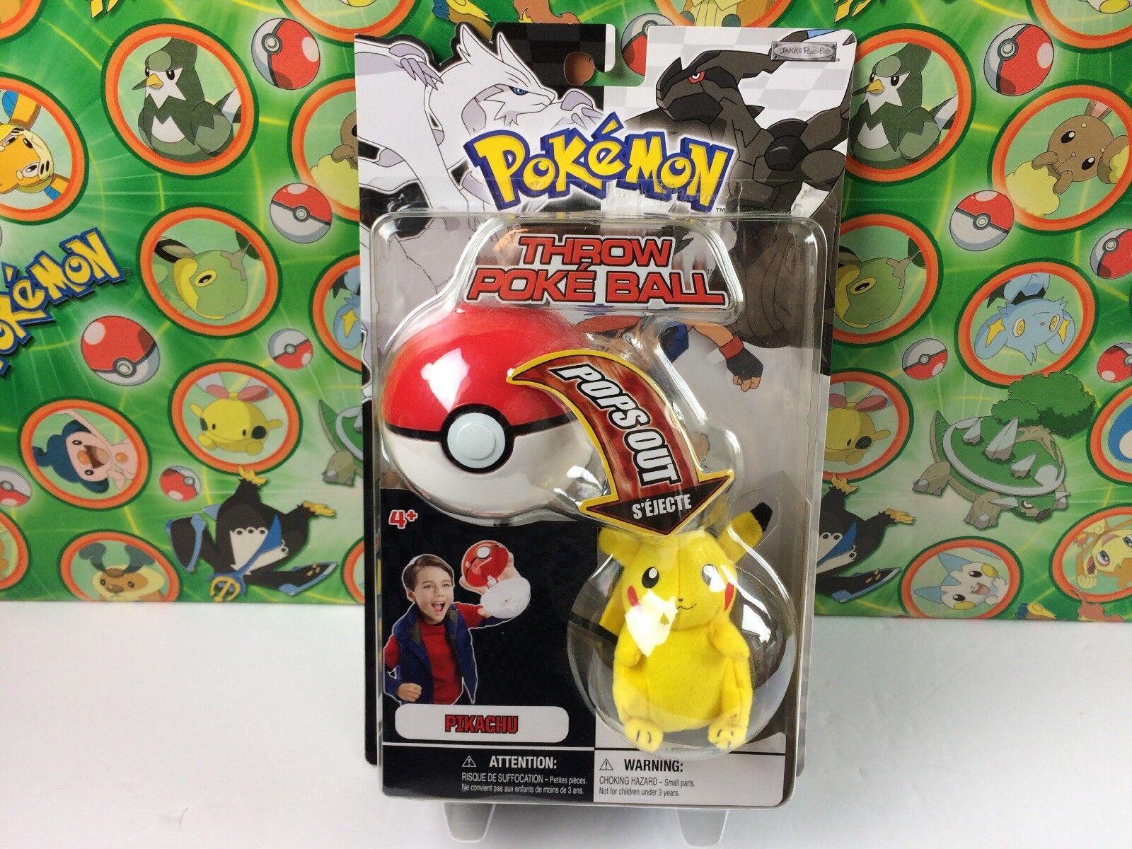 Pokemon Plush Pikachu Ball Throw Wirkung Figure Stuffed DP kämpfen Verpackung Pokeball
