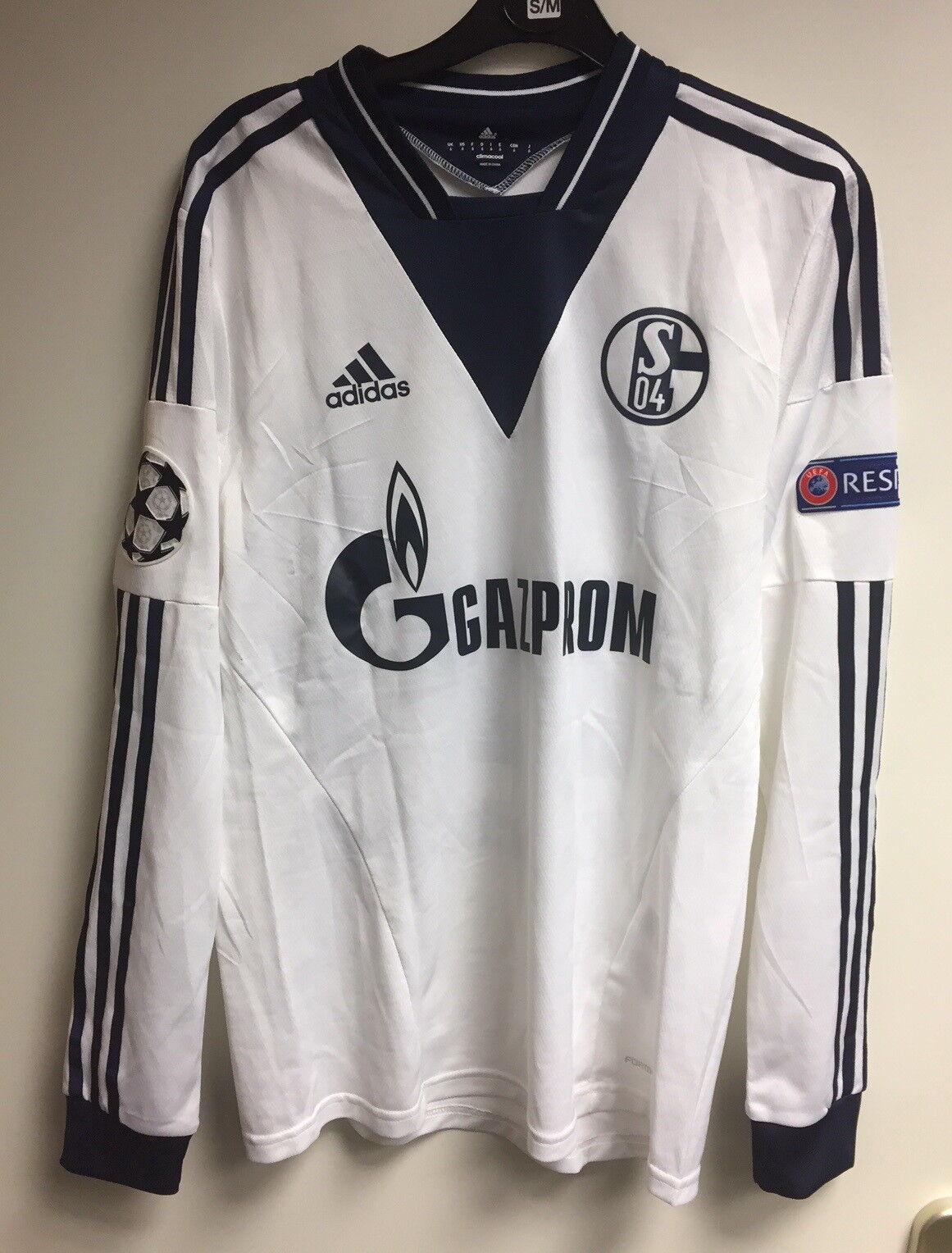 FC Schalke 04 S04 Spielertrikot Formotion Kaan Ayhan Champions League - Gr. 6