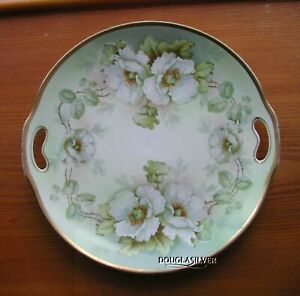 PRUSSIA-RUGOSA-ROSES-DESIGN-CHINA-10-034-HANDLED-TRAY