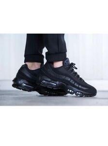 more photos cbb98 720cd Image is loading Nike-Air-Max95-OG-Black-men-039-s-
