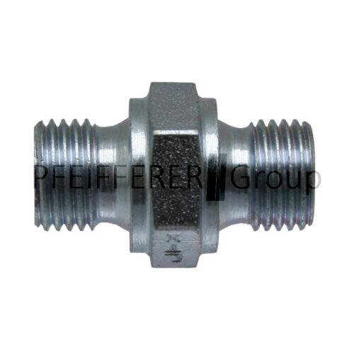 GRANIT BSP NPT Adapter Gerader Adapter AG-AG GA 3//8 M-BSP x 1//2 M-BSP