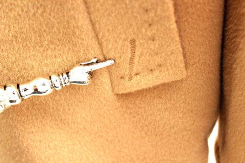 lana Rocca Cappotto bottoni 6 Camel di con in Cinzia 995 lana CrCq0Ht5w