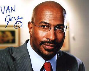 GFA-The-Messy-Truth-VAN-JONES-Signed-Autograph-8x10-Photo-PROOF-V1-COA