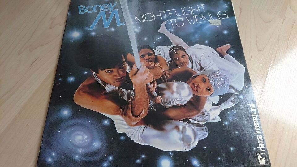 LP, Boney M, Nightflight to venus