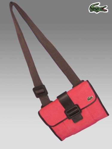 Para 7 Hombro Strawberry Authentic Cross De Over Fashion Pink Lacoste Bolso Mujer gEA7pW