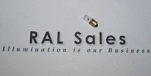 40-Lamp-Mini-Bulb-Miniature-6-3-volt-For-Radio-TV-Auto-dash-E10-Brass-Base-NOS