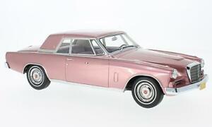 Studebaker-Gran-Turismo-Hawk-metallic-rosa-1-18-BoS-Models