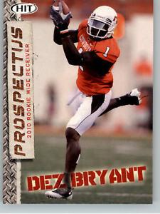 2010 Sage Hit Prospectus #P-2 Dez Bryant - Dallas Cowboys