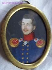 MINIATURE LIEUTENANT Füsilier-Regt Prinz Heinrich von Preußen Nr.35 1820 EMPIRE