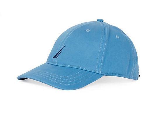 Nautica Mens Classic Logo Adjustable Baseball Cap Hat