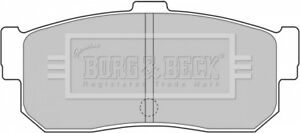 Borg-amp-Beck-Disc-Brake-Pad-Set-Pads-BBP1834-GENUINE-5-YEAR-WARRANTY