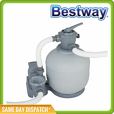 2000 gal Bestway Flowclear Sand Filter Pump For Above Ground Pools 58366