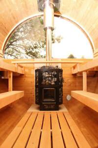 Wolff Finnhaus Aufschlag für Halbrundglas für Holz Saunafass | eBay