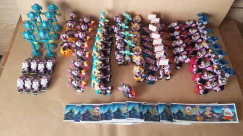 Kinder Ferrero Surprise Figures Maps Series Vampires Halloween Cake Toppers