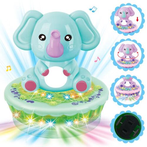 Prettyia ROTANTE Proiettore Bump /& Go azione elettrica giocattolo con musica e luce