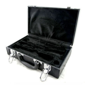 GREAT-GIFT-High-Quality-Vegan-Leather-Bb-Clarinet-Case-w-Shoulder-Strap