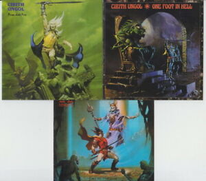 Cirith-Ungol-3CD-SET-Frost-And-Fire-King-Of-The-Dead-One-Foot-In-Hell