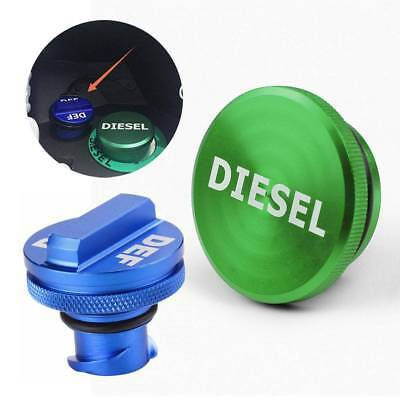 2013-2017 Billet Aluminum Green Fuel Cap for Dodge Ram Cummins with Magnetic Auto Parts DEDC