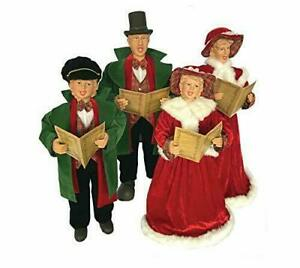 Santa-039-s-Workshop-Dickens-Carolers-Set-Of-4-GallyHo
