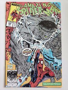 GREY HULK McFARLANE ART THE AMAZING SPIDER-MAN #328 1989 ACTS OF VENGEANCE!