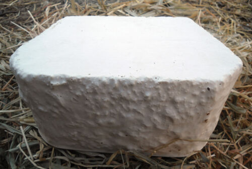"Plastic small retaining wall brick mold plaster concrete mould 7.5/"" x 5/"" x 3.5/""T"