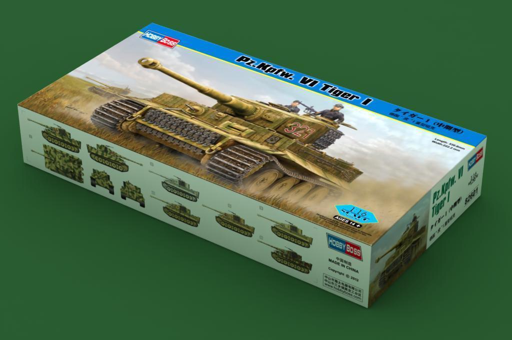 Hobbyboss 1 16 82601 German Heavy Tank Pz.Kpfw. VI Tiger I