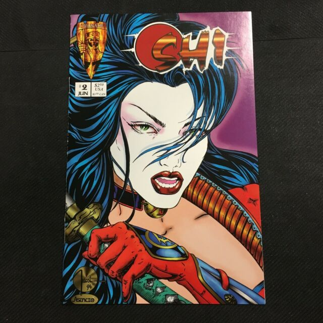 CRUSADE COMICS Shi: The Way of the Warrior #2 NM 9.4
