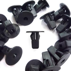 50Pcs Trim Bumper Fender Hood Retainer Push Type Fastener Clip For Toyota New