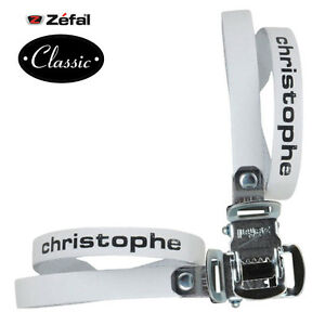 ZEFAL Classic Christophe leather bike pedal toe straps Track Fixed gear Road