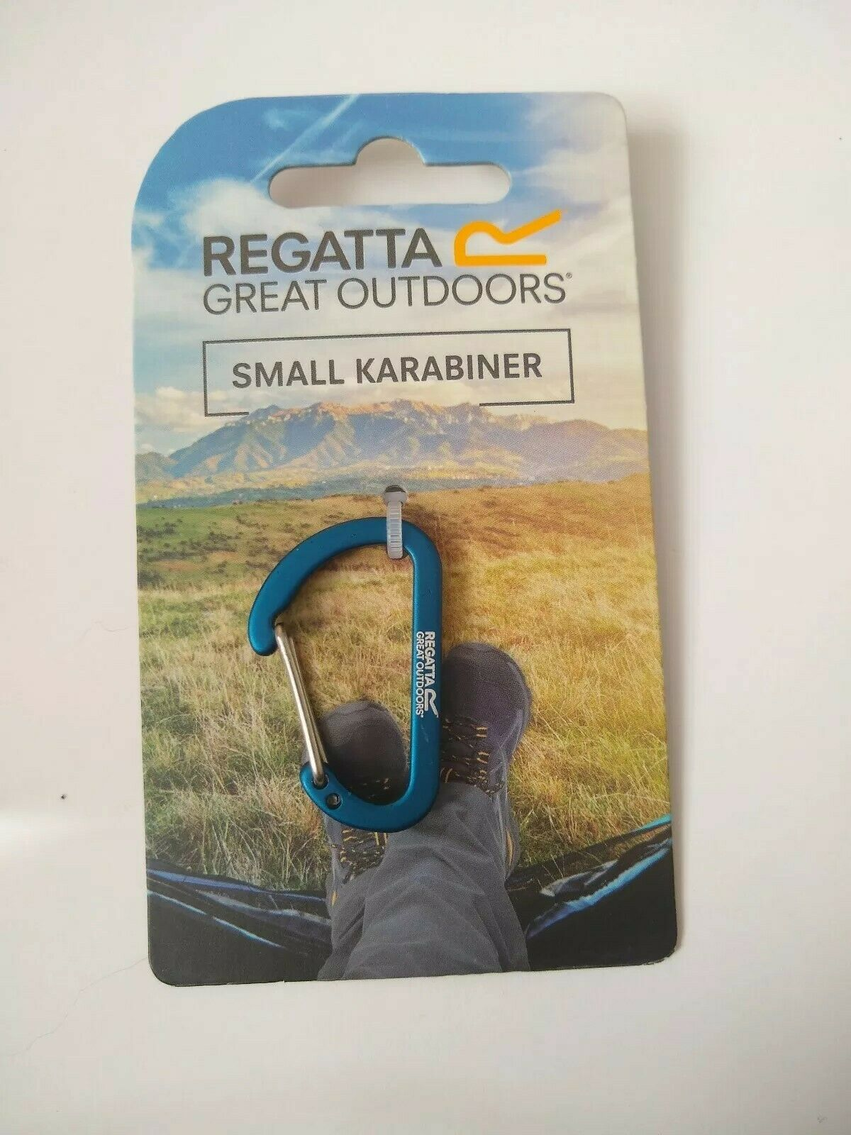 Available in Oxford Blue//Amber Glow Carabiner Large Carabiner Clip Regatta