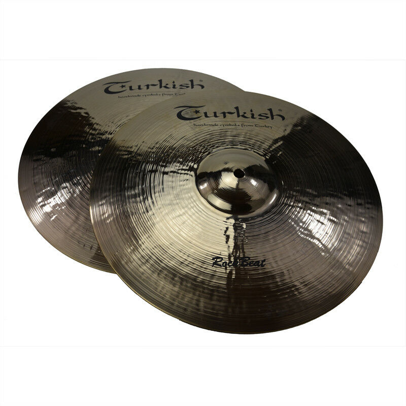 TURKISH CYMBALS cymbale 14  Rock Beat HiHat Hi-Hat 1000 1155g