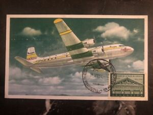 1954 Argentina Postcard Cover To New York Usa 25 Anniv Of The First Flight Online Discount Argentina
