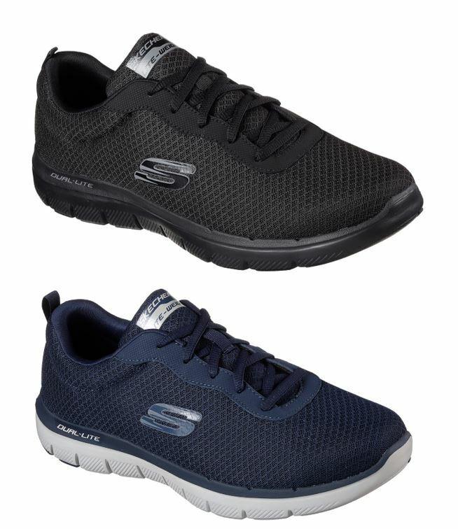 Chaussures hommes SKECHERS FLEX ADVANTAGE DAYSHOW 2.0 MEMORY FOAM FITNESS LAVor