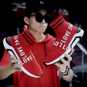 Men-039-s-Running-Sneakers-Fashion-Sports-Outdoor-Casual-Shoes-Sock-Shoes-Athletic-r