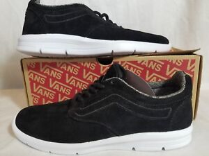 New Vans Iso 1.5 Tweed Dots Suede Black White Vault Skate Low Shoe ... 6e1277b917