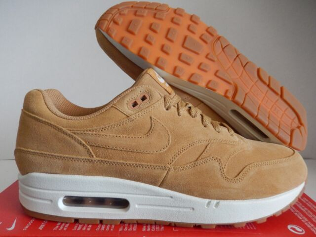 meet 7fd1e cc2cd NIKE AIR MAX 1 PREMIUM FLAX-SAIL-GUM BROWN