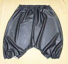 Bloomers Pantalon Culotte Sissy Slip noir CAOUTCHOUC LATEX ADULTE bébé