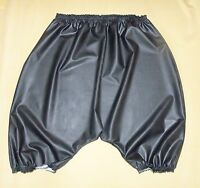 Bloomers Pants Panties Sissy Knickers Black Rubber Latex Adult Baby Waterproof