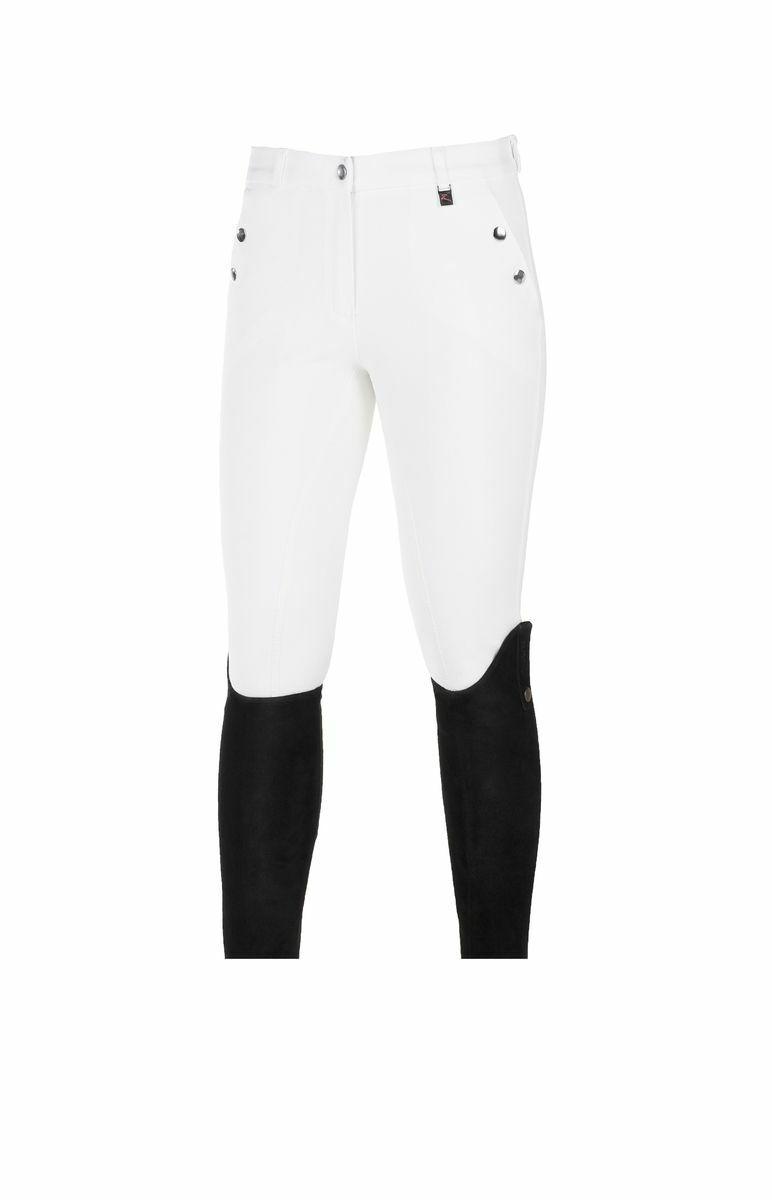 Horze Señoras Asiento Completo De De De Algodón Tejido Elite Equitación Pantalones de Montar con Bolsillos ee5a40
