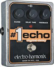 EHX Electro Harmonix #1 ECHO Digital Delay Guitar Effects Pedal