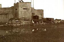Militaria - Indochine - Poste français dans le Delta tonkinois