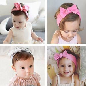 Baby Kinder Stirnband Schleife Haarband Mädchen Haarschmuck 18*6.5cm