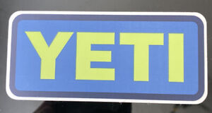 Authentic YETI Vinyl Sticker~Decal